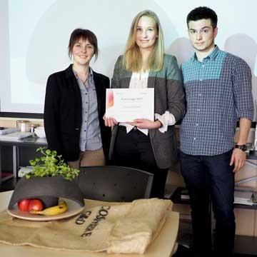 Charlotte Halstenbach, Sandra Garsaud et Thomas Blanc sont les concepteurs d'Ecosphère