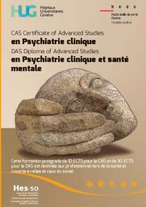Photo DAS CAS HES-SO en Psychiatrie clinique et Santé mentale