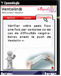 Onglet Conseils