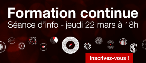 Séance d'information Formation continue, 22 mars 2018