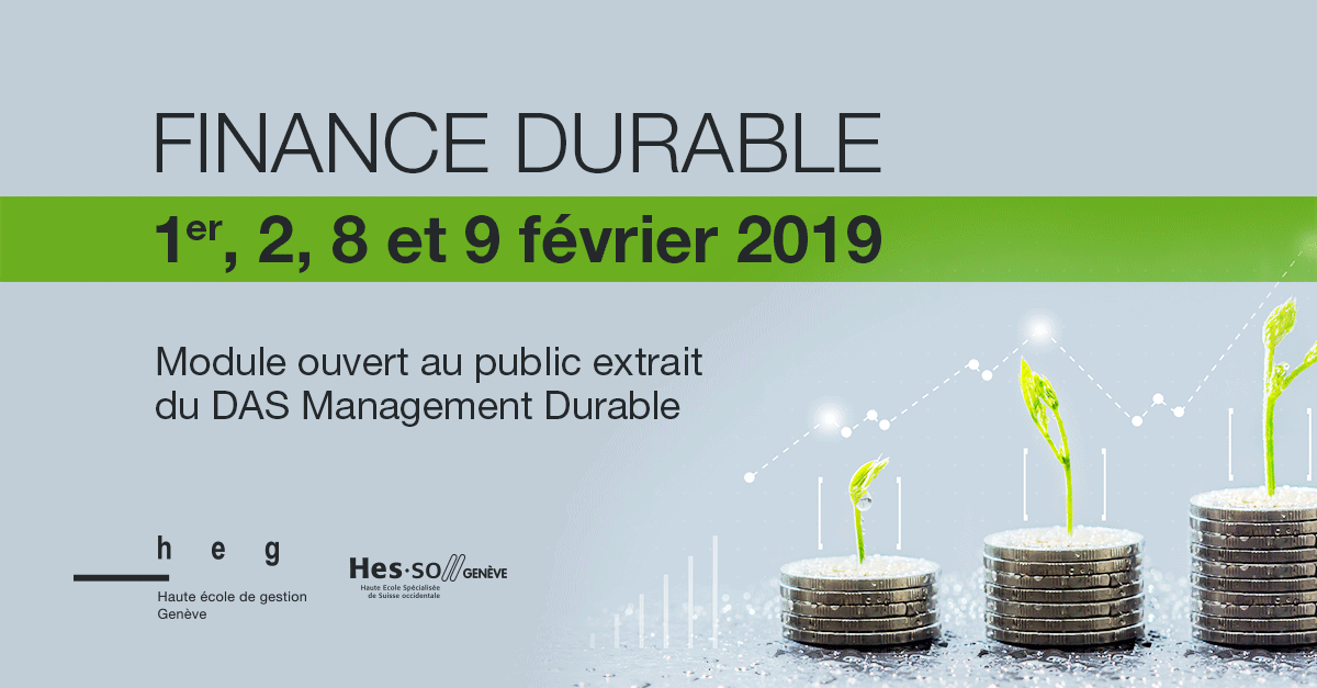 Finance durable