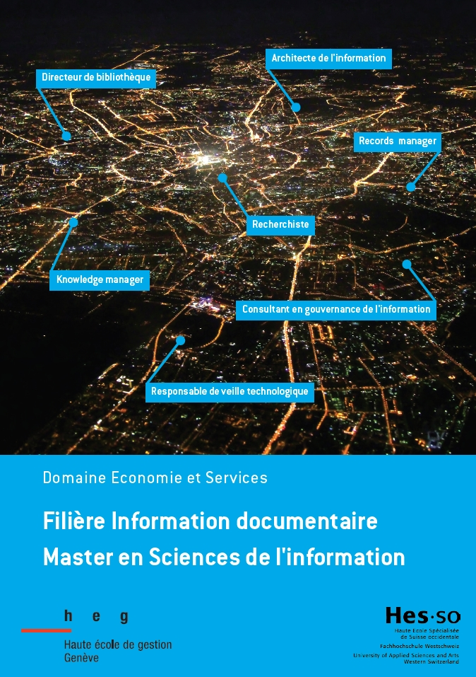 Brochure d'information sur le Master IS