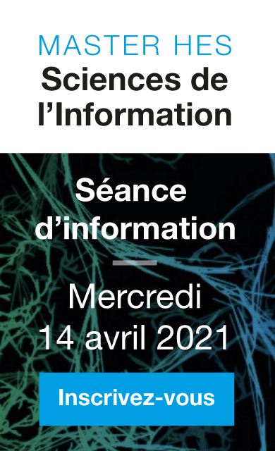Séance d'information Master IS - 14 avril 2021 à 12h00