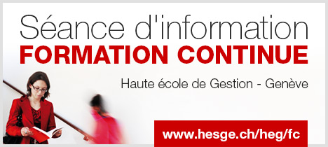 Séance d'information formation continue - www.hesge.ch/heg/fc