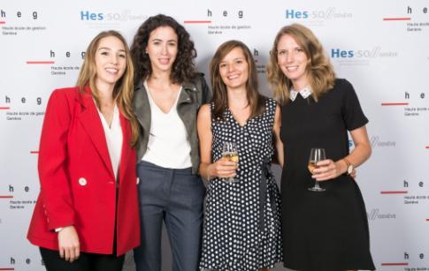 20 ans HEG-Genève - photocall