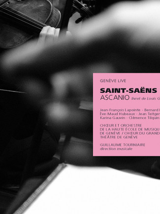 Ascanio opéra enregistré les 24 et 26 novembre 2017 à Genève