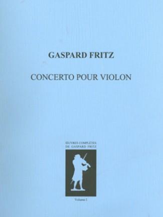 Couverture de l'ouvrage Gaspard FRITZ (1716-1783) : Œuvres complètes (Vol I) © HEM - Genève