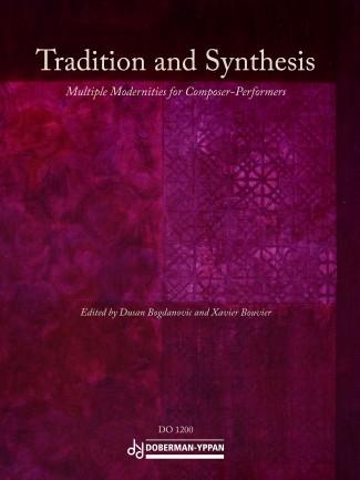 Couverture de Tradition and Synthesis © Haute école de musique de Genève