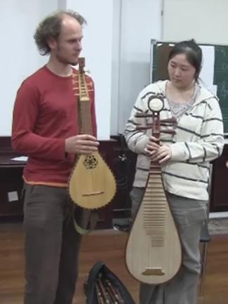 Image prise dans le cadre du projet « La tradition dans l'enseignement musical en Chine »