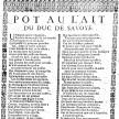 « Placard d'une chanson du XVIIIe »