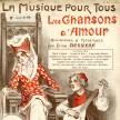 """Emile BESSIÈRE, """"Les Chansons d'amour"""", La Musique pour tous, n° 58, Paris, Editions universelle, s. d. (illustration d'Henri Armengol)."""