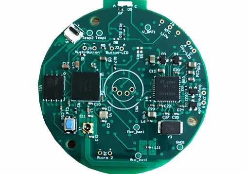 Carte électronique du stéthoscope électronique intelligent