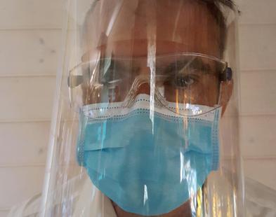 Prototype masque de protection covid