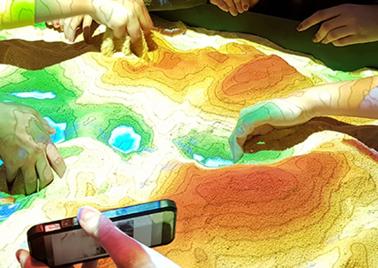 Bac à sable de réalité augmentée d'HEPIA