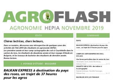 Couverture Agroflash novembre 2019