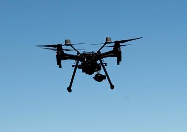 Drone pour surveillance de la ligne du BOM 2019