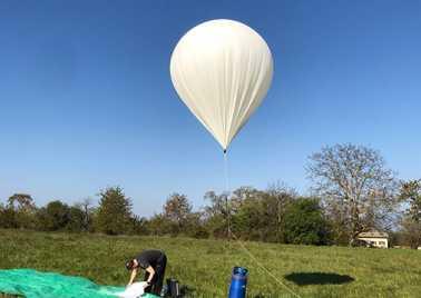 Ballon de la sonde Stratosense HEPIA