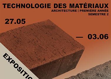 Visuel de l'exposition représentant des briques