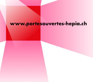 Visuel portes ouvertes HEPIA 2021