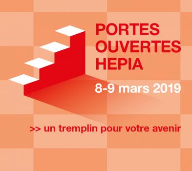 Visuel portes ouvertes HEPIA 2019