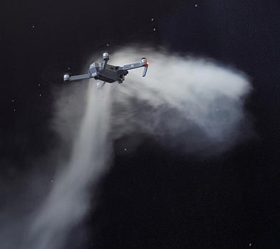 Soufflerie intelligente  pour drones