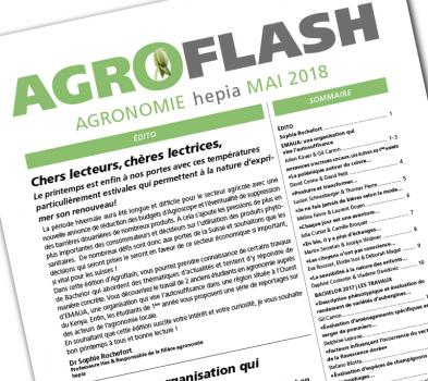 Couverture Agroflash avril 2018