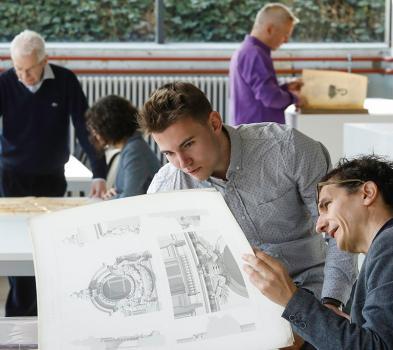 Les Archives Architectures au Pavillon SIcli