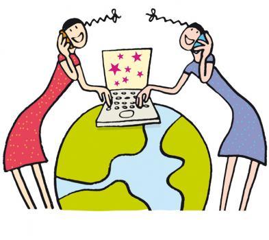 Visuel internet pour les filles HEPIA