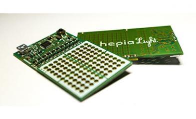 Photo carte électronique hepialight