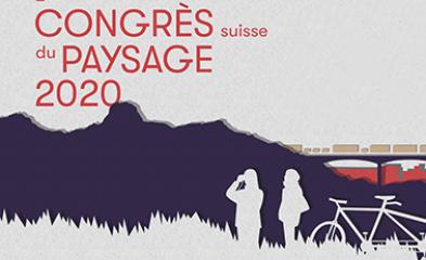 Visuel du 2e congrès suisse du paysage