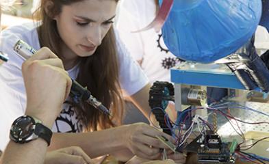 visuel Concours robots HEPIA