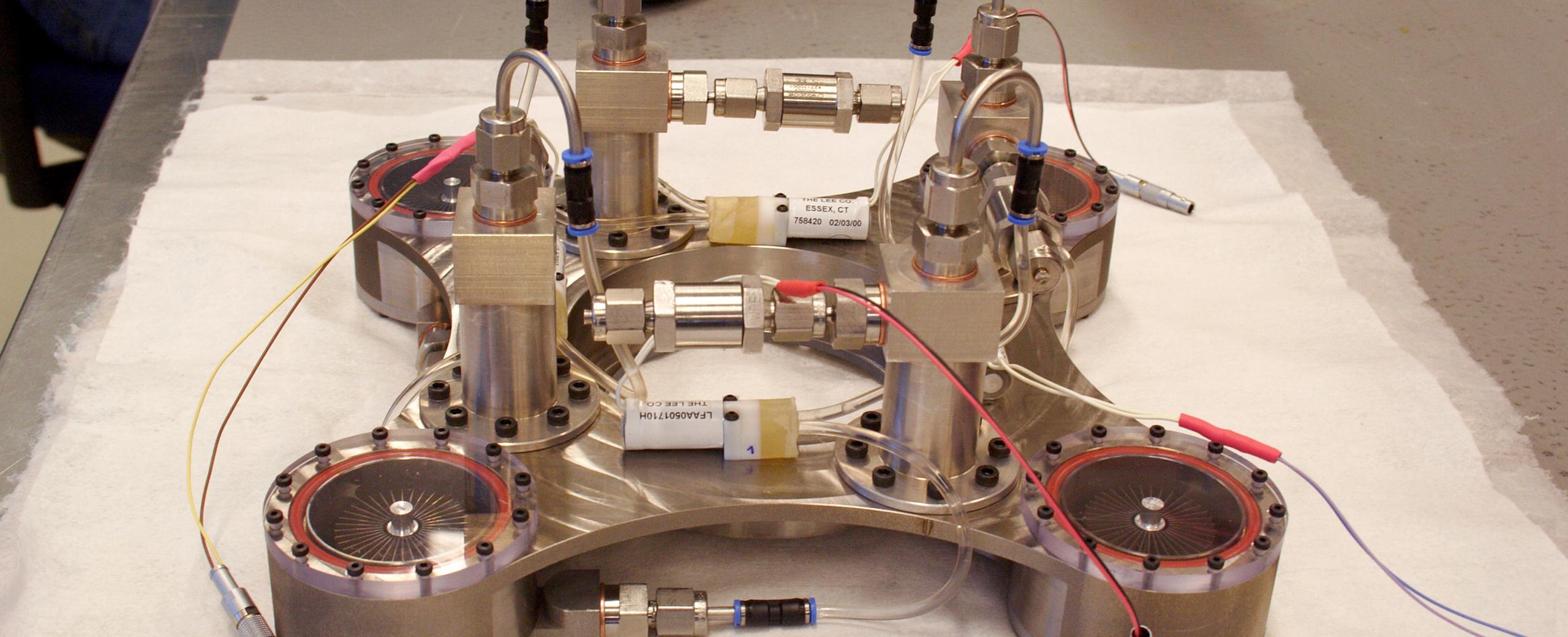 Réalisation de modules expérimentaux dans l'aérospatial