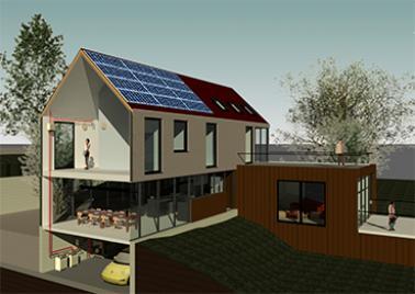 photo ac/dc villa bioclimatique