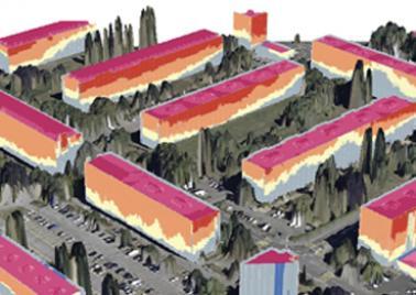 3D digital urban data - iCEBOUND