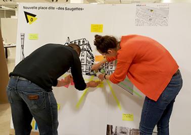 Atelier projet Pôle Gare de Lausanne